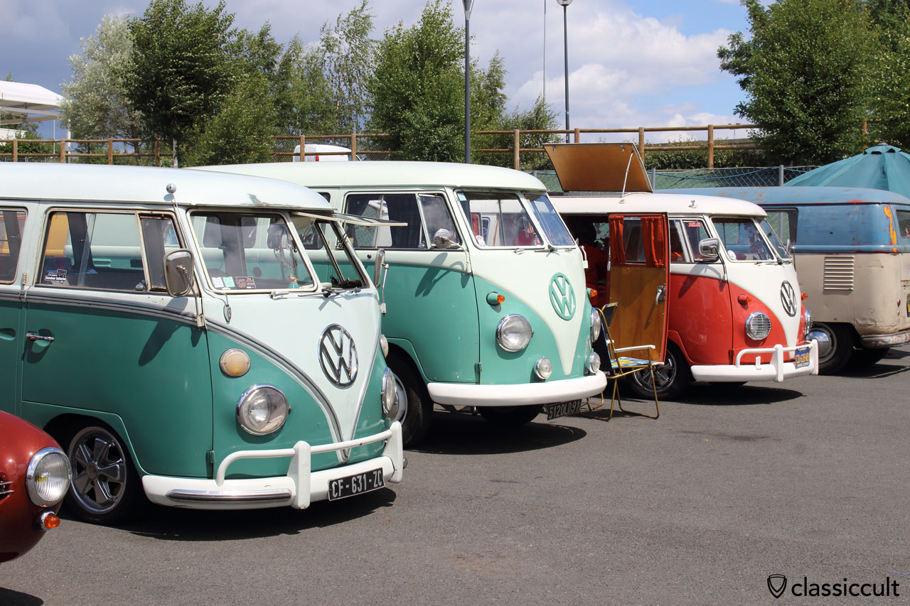 low and original VW Split Bus