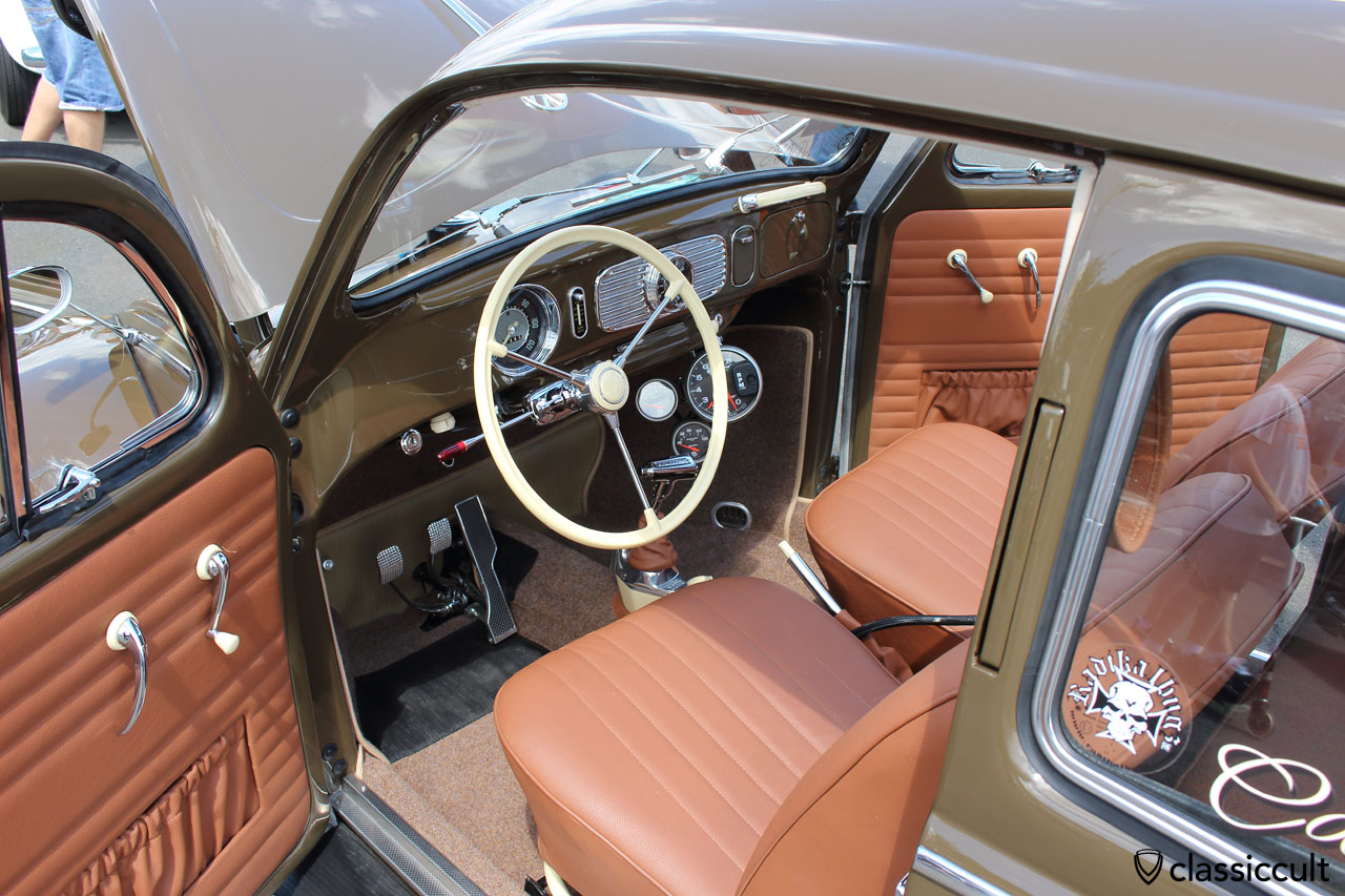 VW Oval dashboard