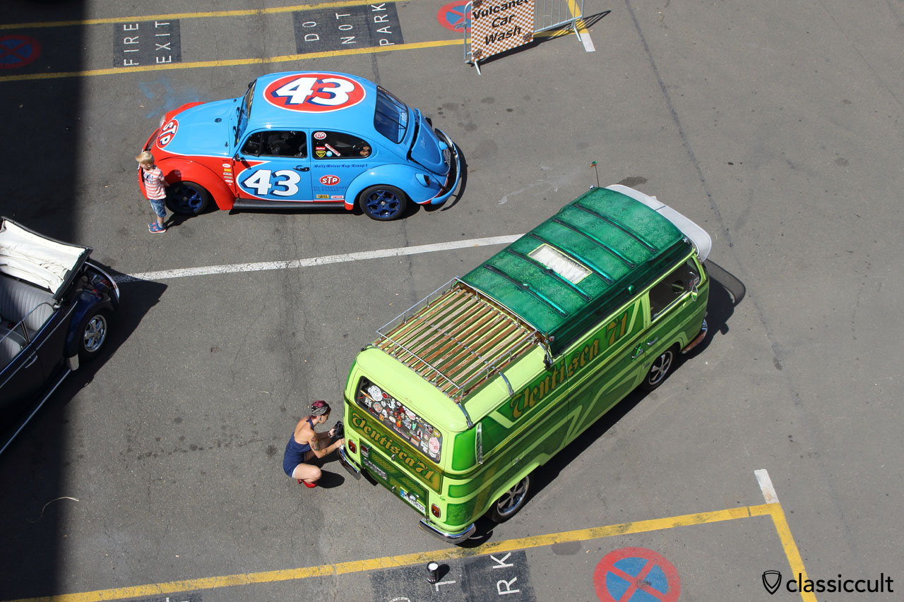 Vulcanet VW Bus cleaning