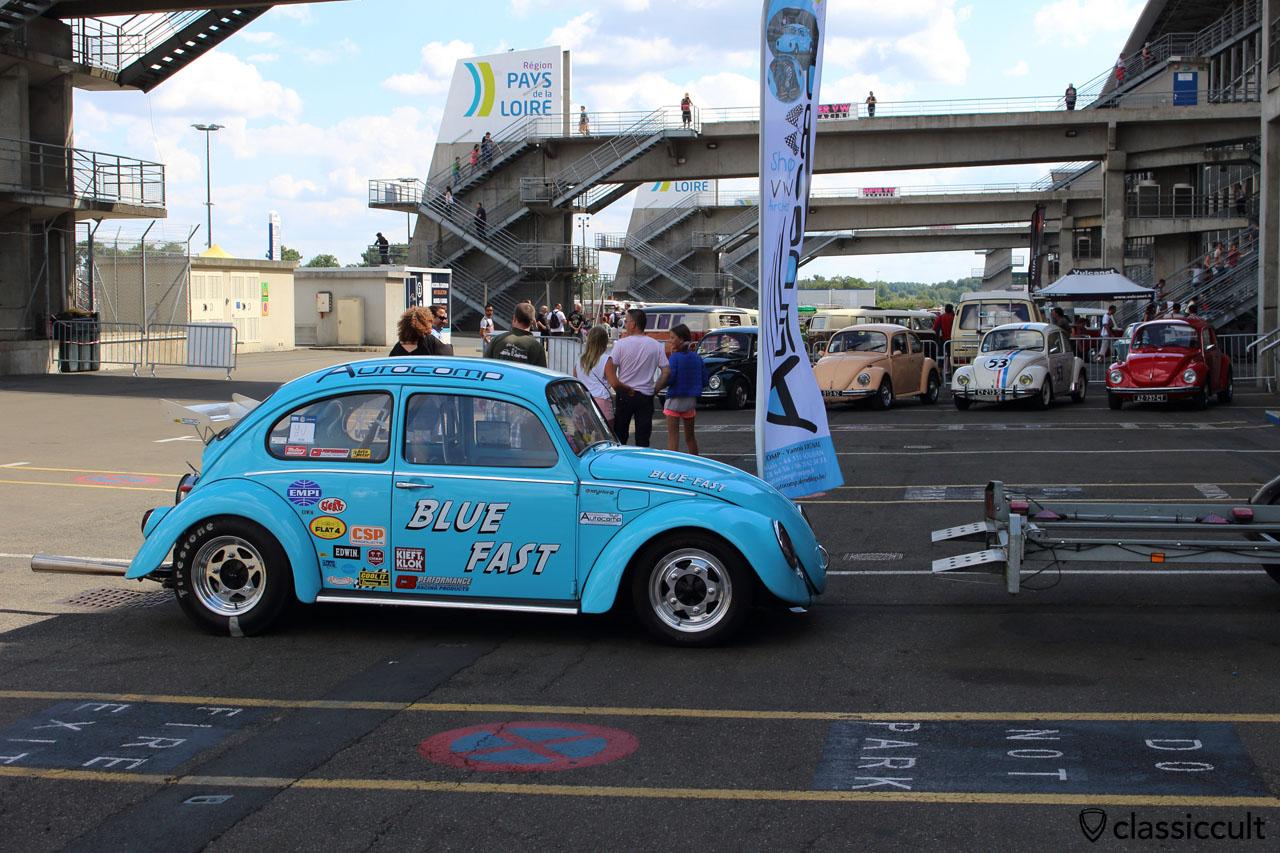 Autocomp blue fast Race Beetle