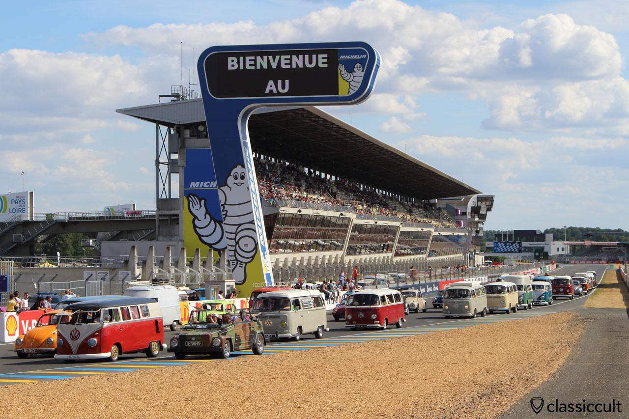 Super VW Parade, Le Mans Race Track 2015