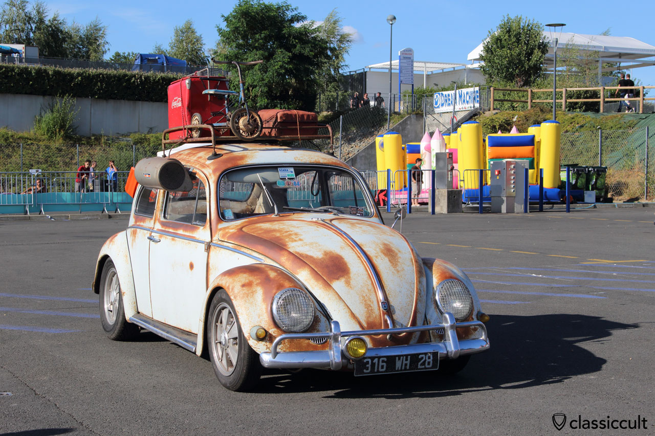 patina VW Beetle