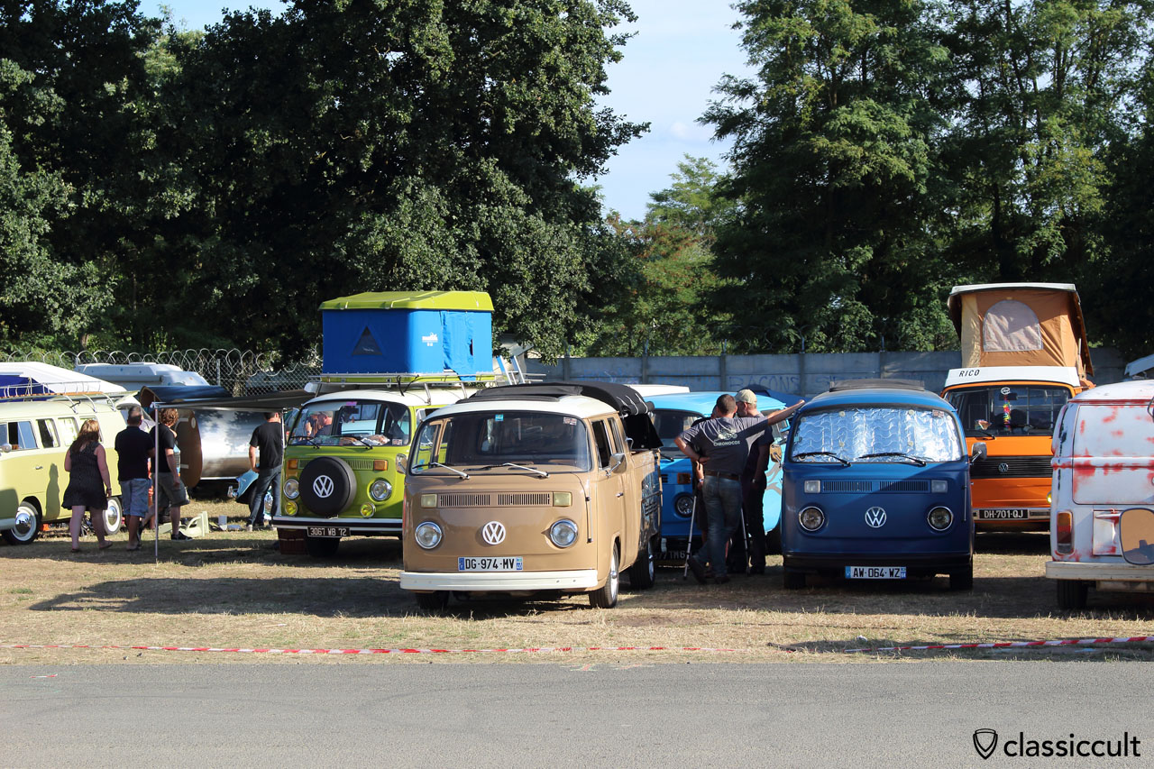 VW T2, Camping du Houx