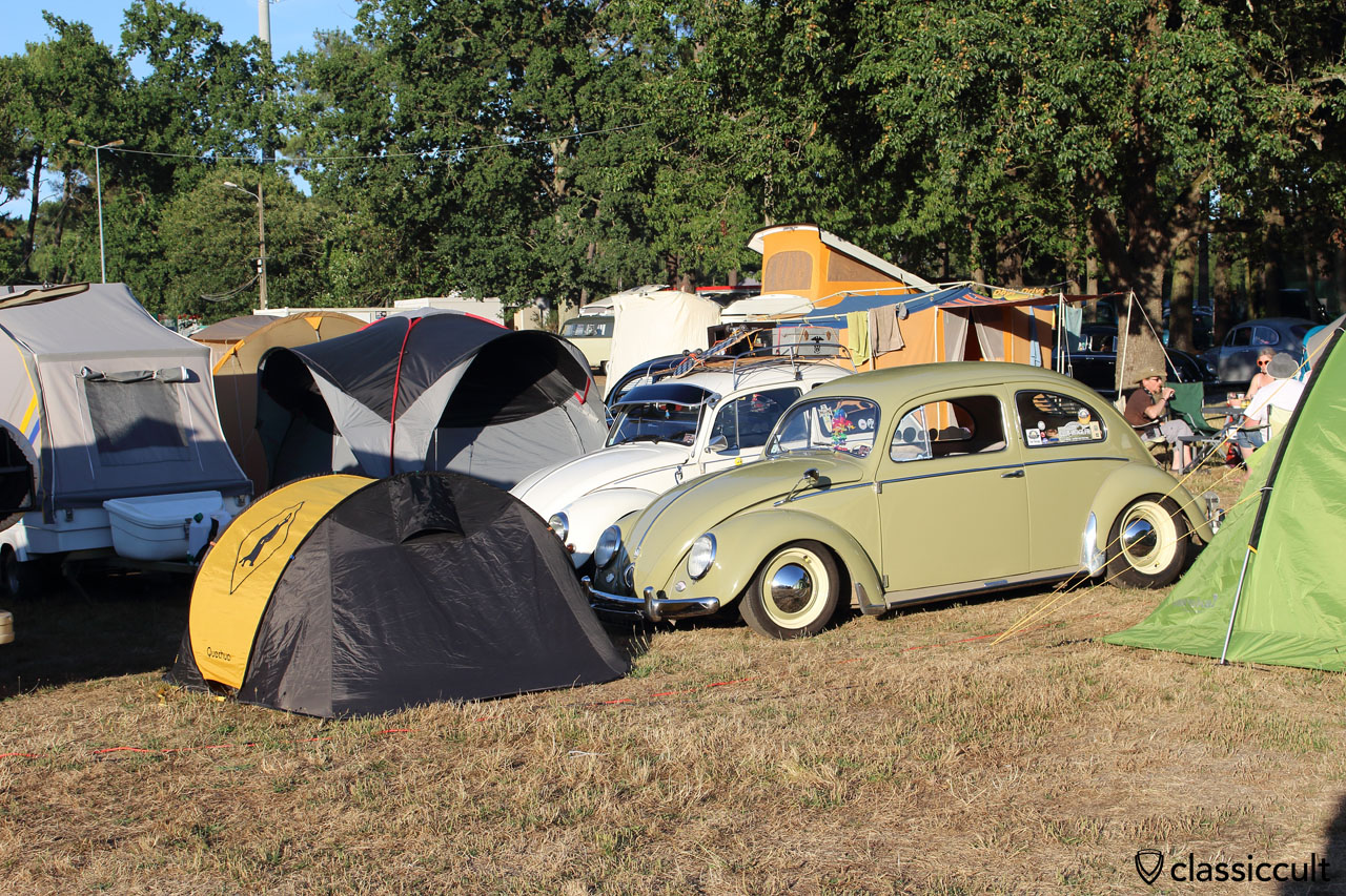 Camping at Super VW Festival