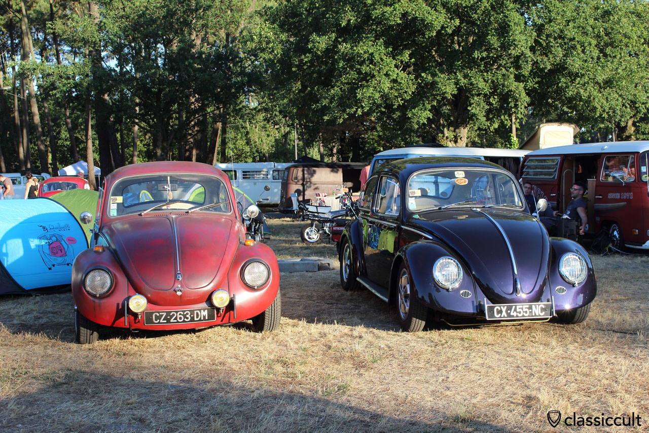 cal look vw beetles