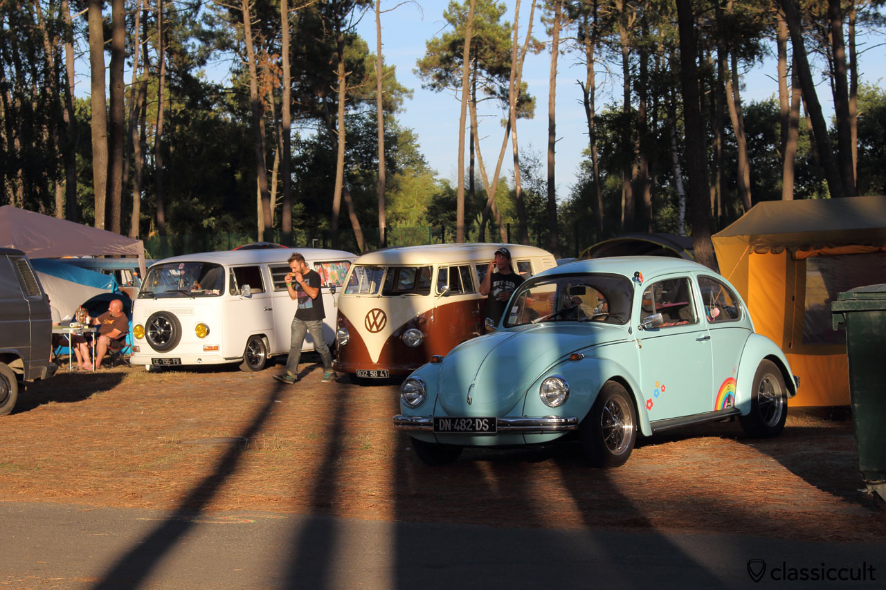 T2, T1 and VW Beetle