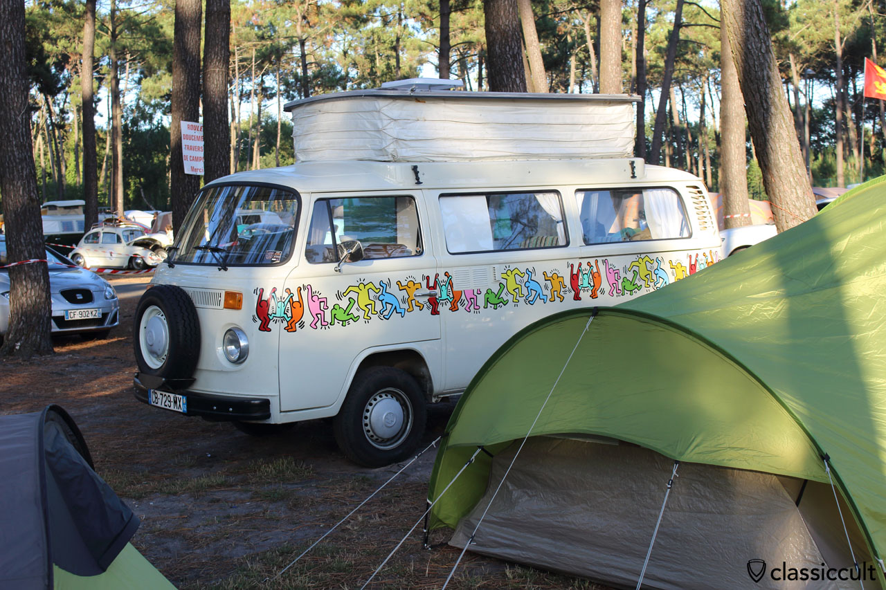 Keith Haring T2 Camper