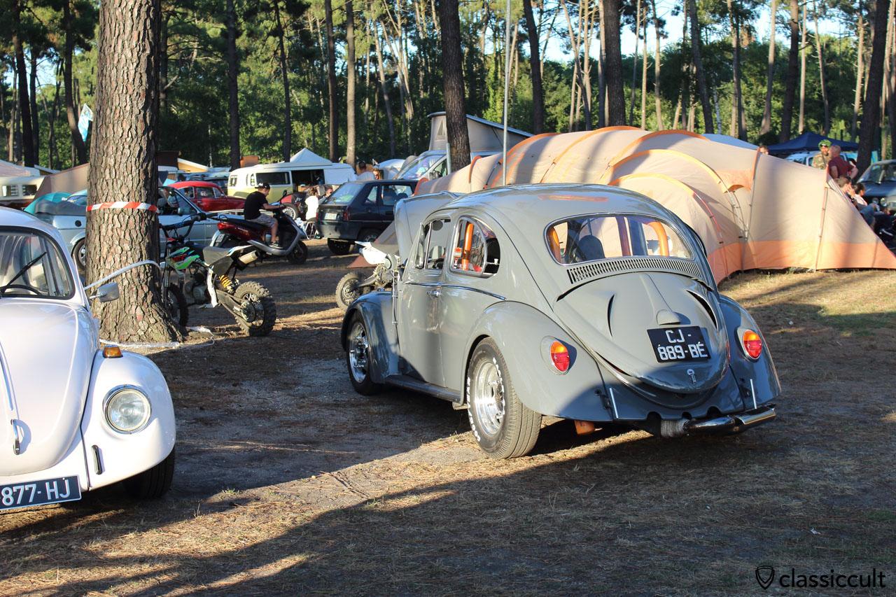 VW Beetle, Camping du Houx