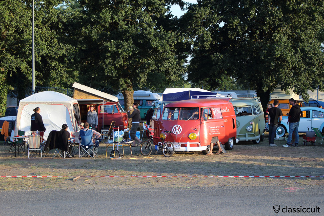 Camping at Super VW Fest 2015