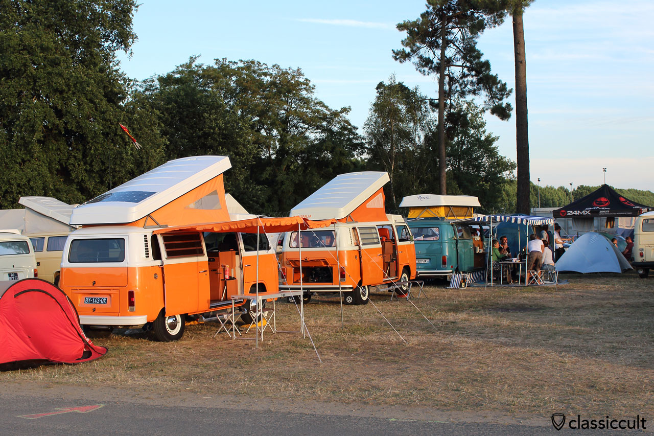 Camping at Super VW Festival 2015