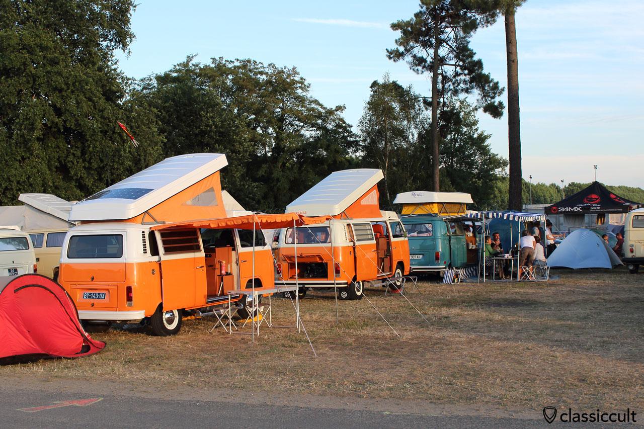 Camping at Super VW Festival 2015