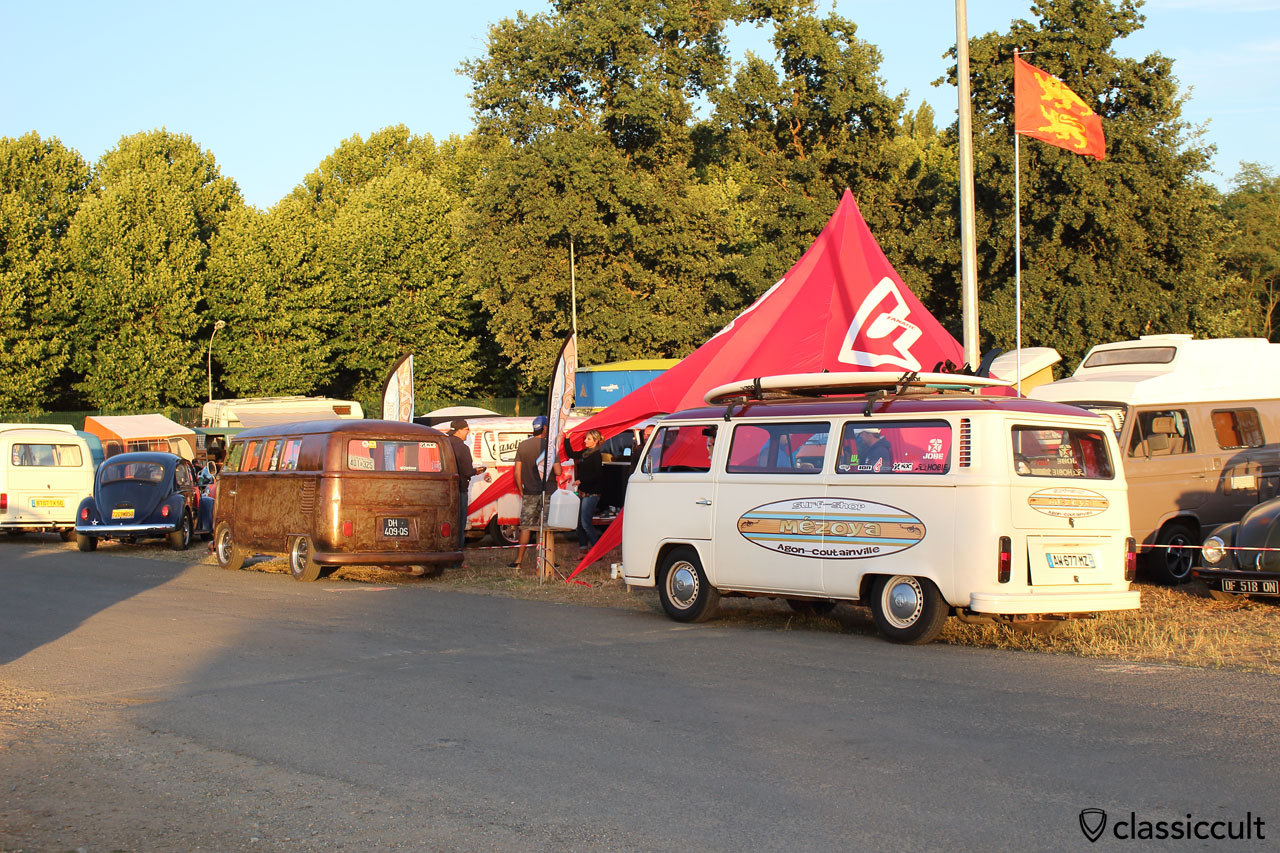 T2 Bus from surf-shop Mezoya, Agon-Coutainville, France