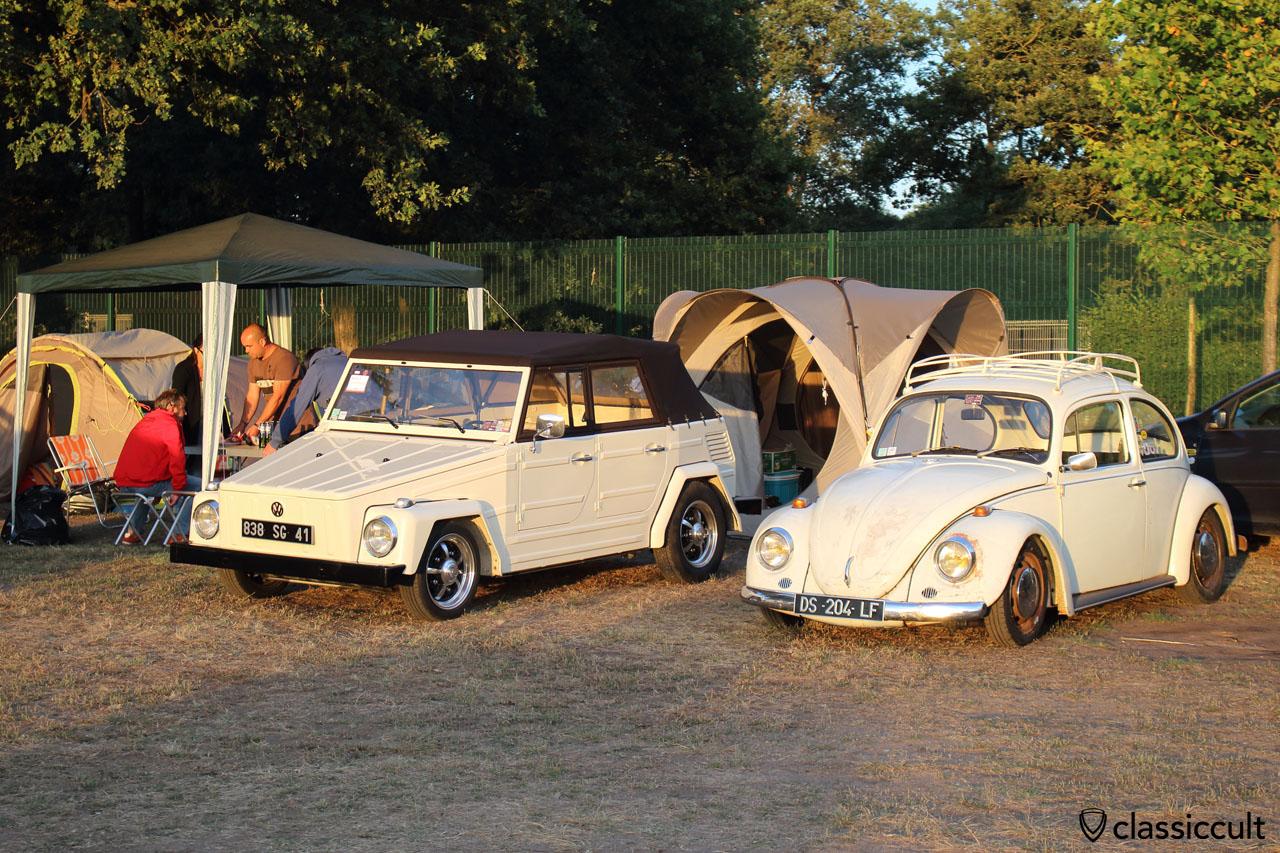 white VW 181