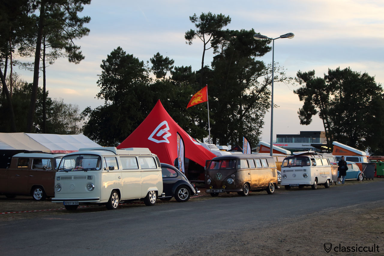 T2 and T1 in last daylight, Super VW Fest 2015