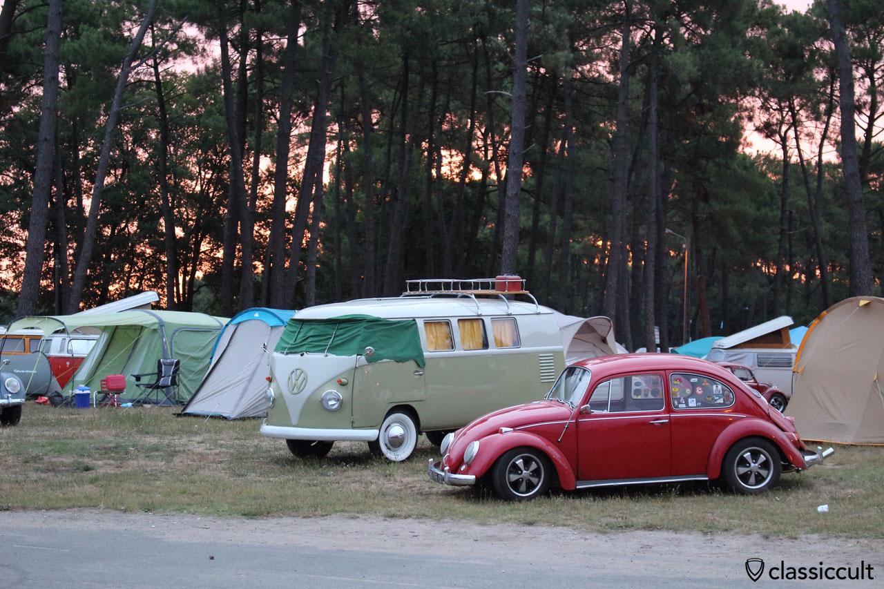 Camping du Houx, 6:30 a.m.