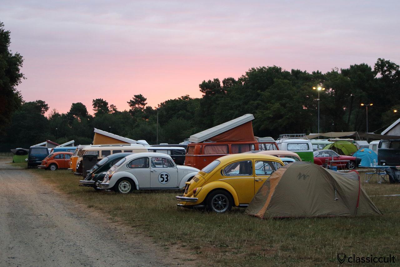 Camping at Super VW Festival