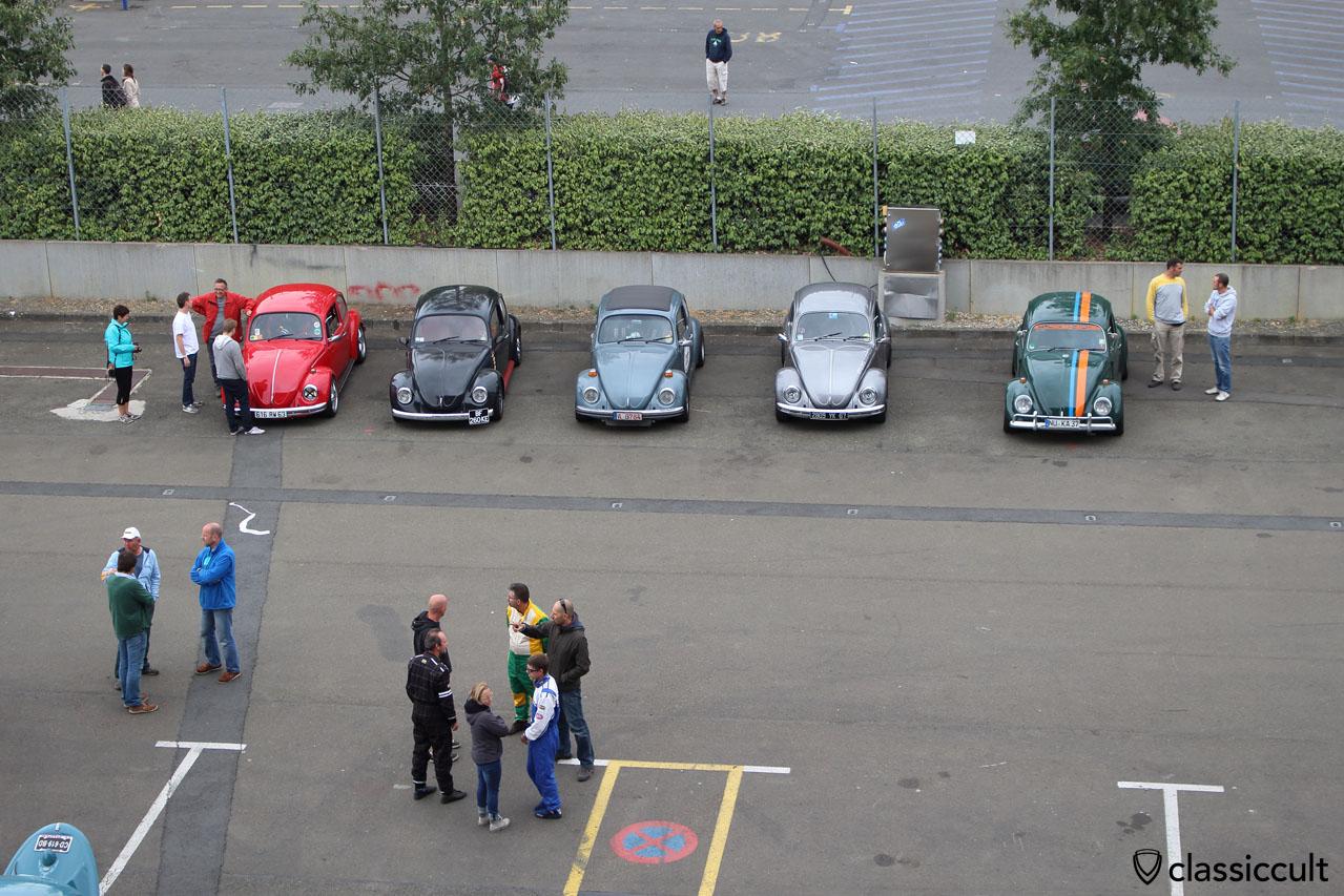 Super VW Fest Le Mans, after race demonstration
