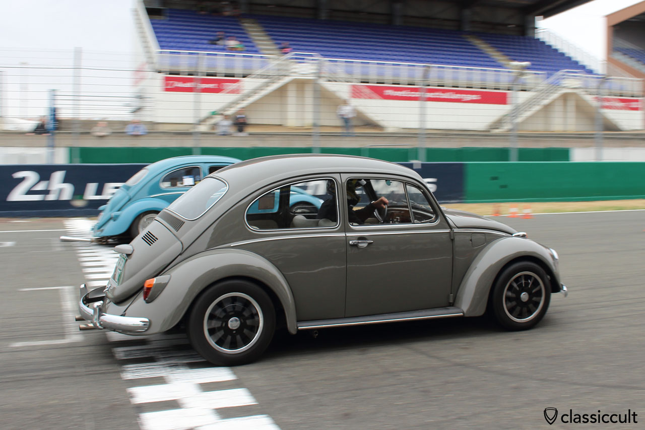 VW Beetle race