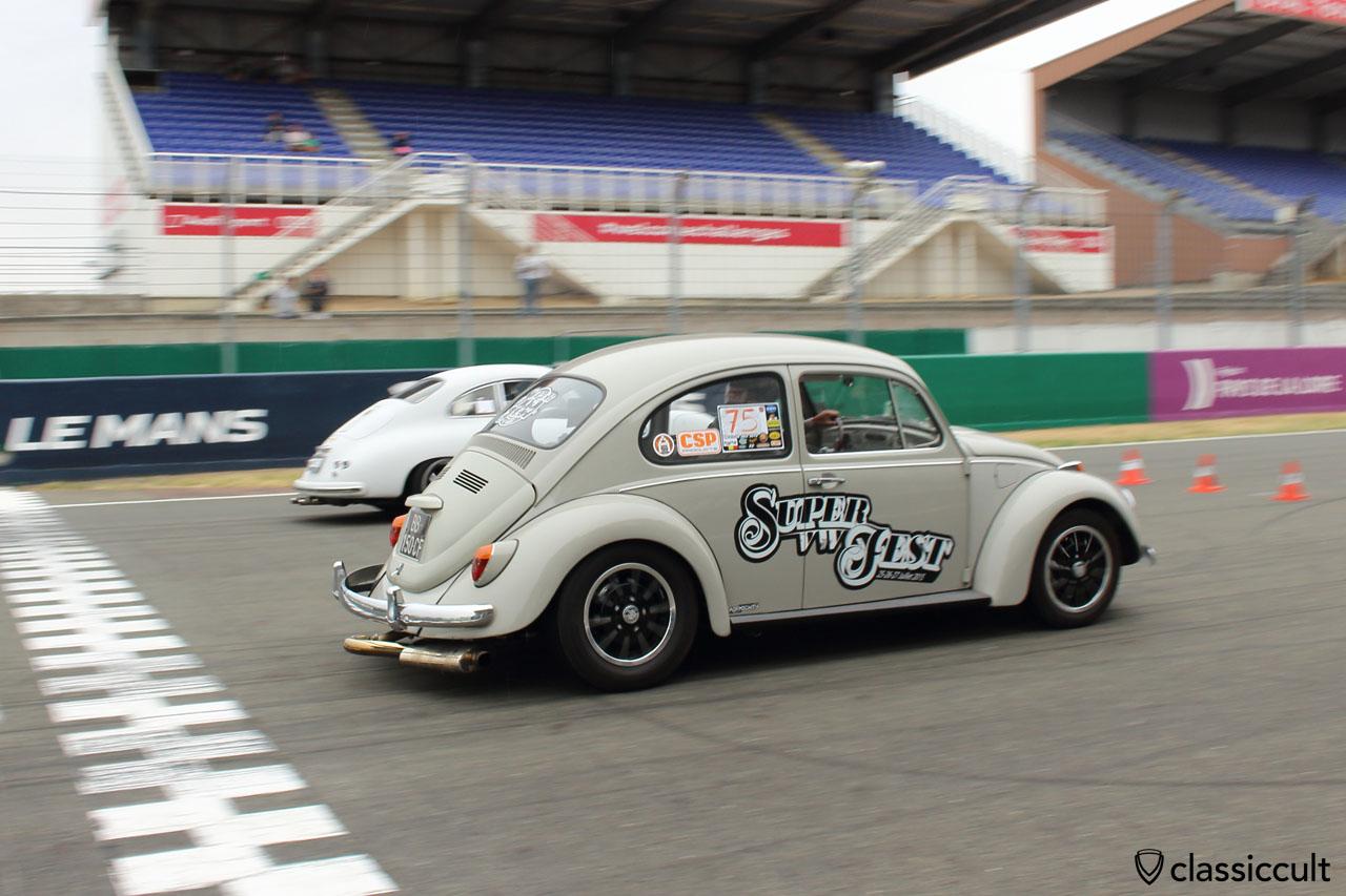 Super VW Fest VW Beetle race 2015