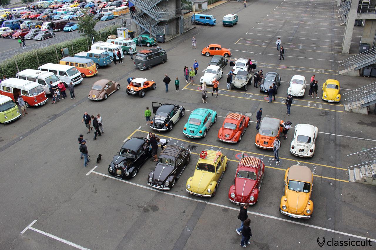 Le Super VW Festival en 2015