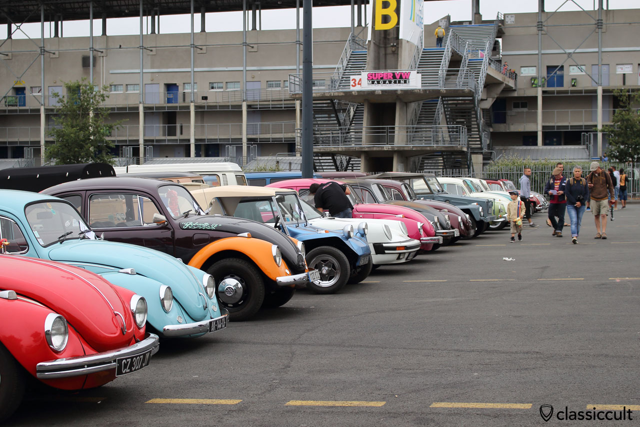 Classic VWs line up