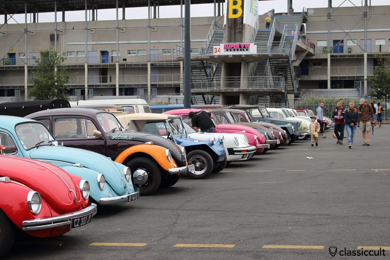 Classic VWs line up