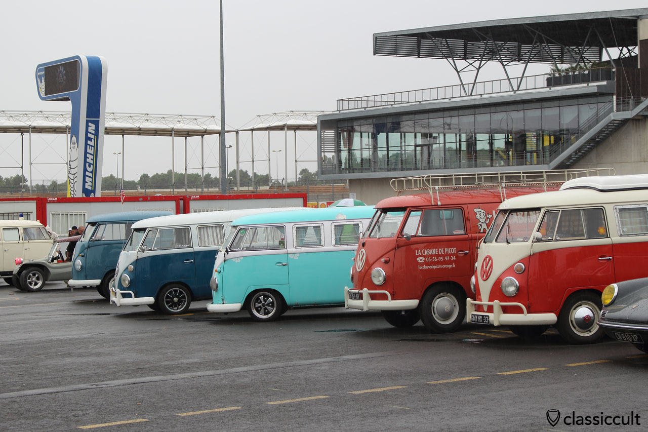 T1 Bus line, Le Mans, Super VW Fest 2015
