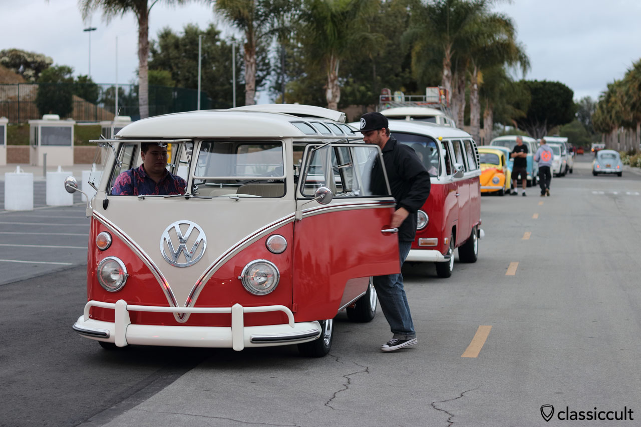 Good Morning, 6:04 a.m., The Classic VW Show, June 12, 2016, Costa Mesa, CA 92626, USA