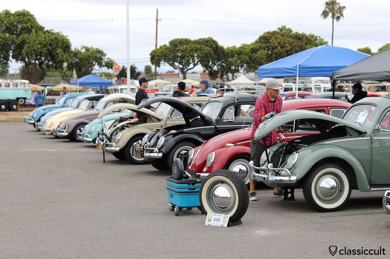 The Classic VW Show, 7:22 a.m., June 12, 2016, California