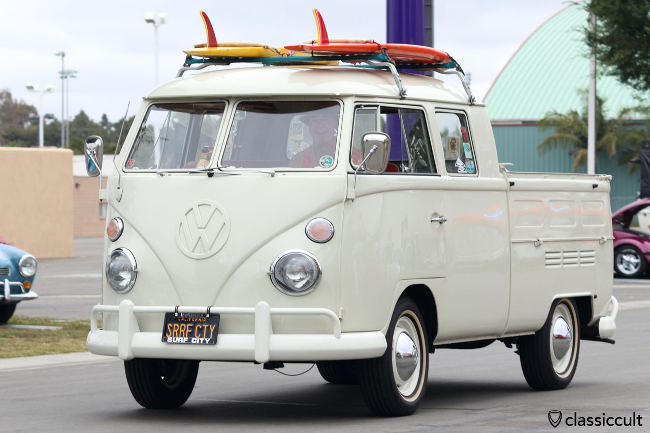 VW Double Cab Split Surf Bus
