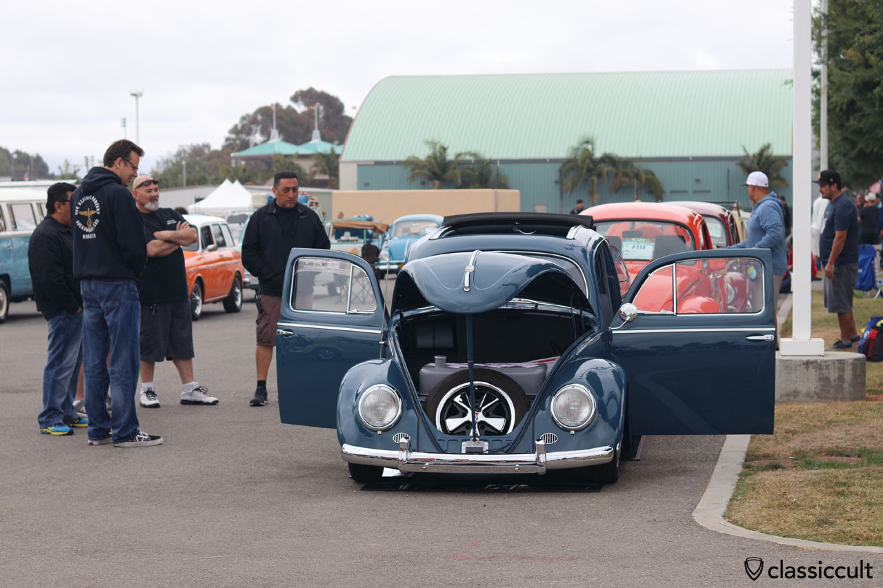 Ragtop Zwitter Oval Beetle, The VW Classic Show 2016 California