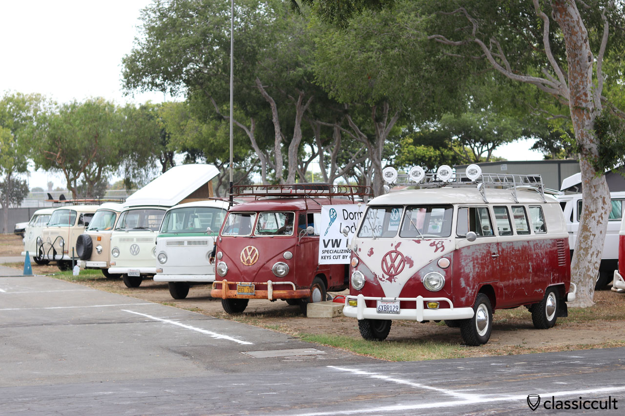 VW T1 and T2 Buses