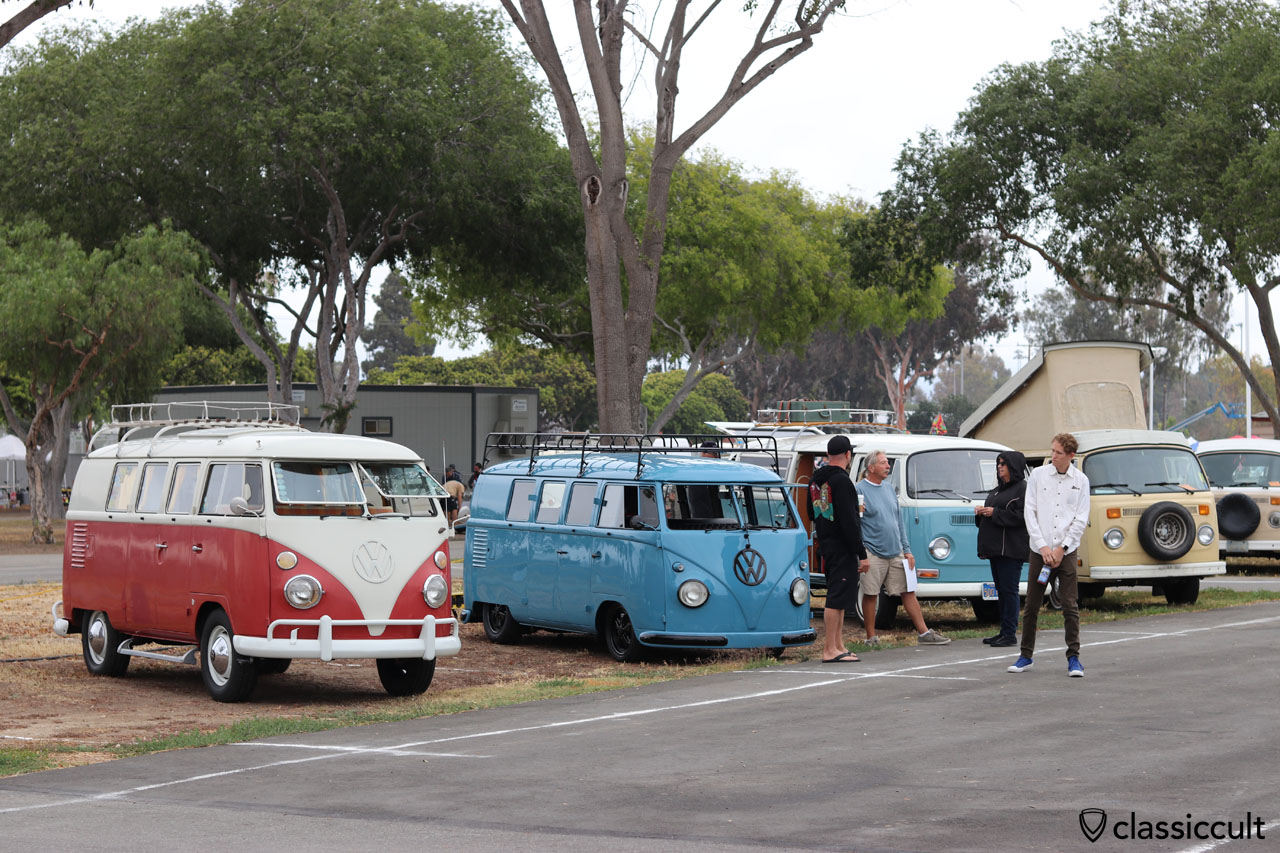 Vintage VW Buses, The Classic Show, CA, 2016