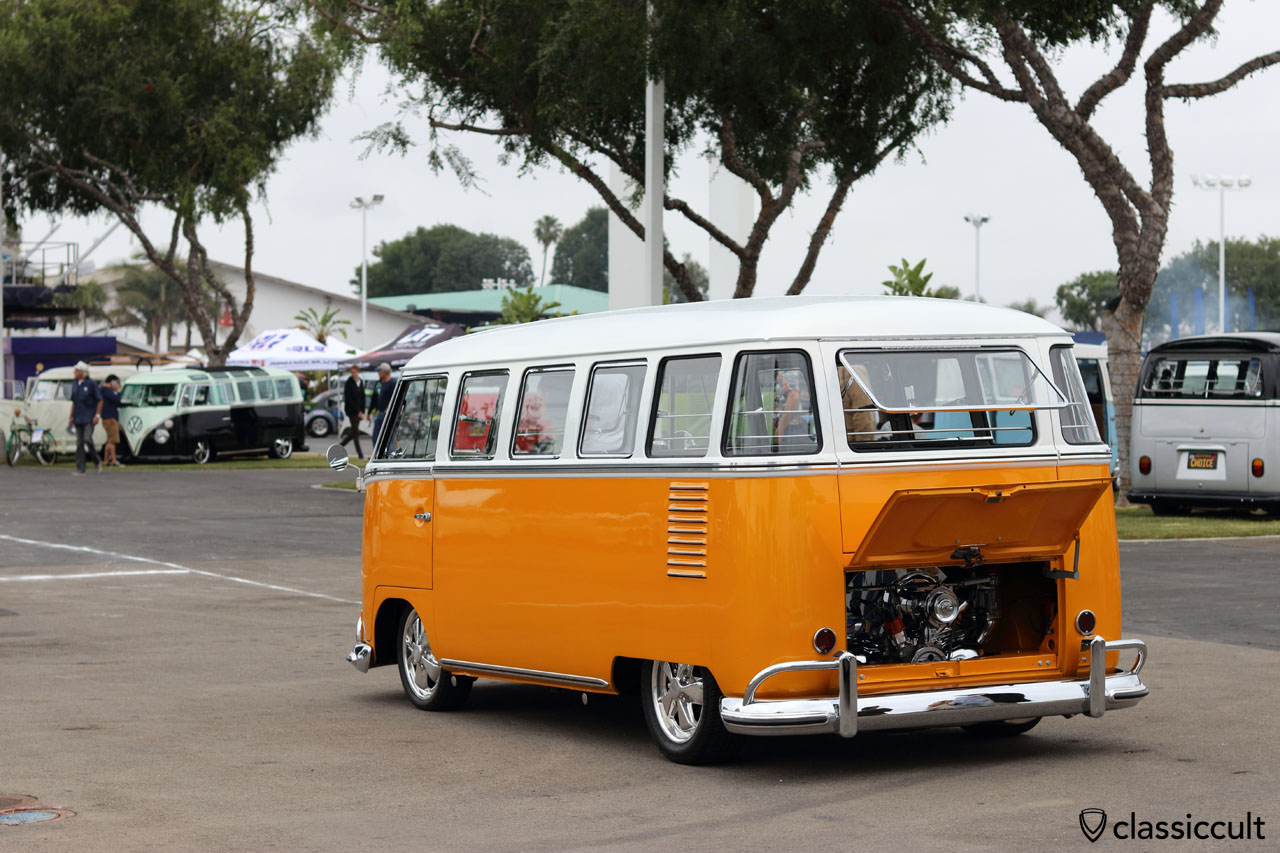 The VW Classic Show, June 12, 2016, Costa Mesa, Calif