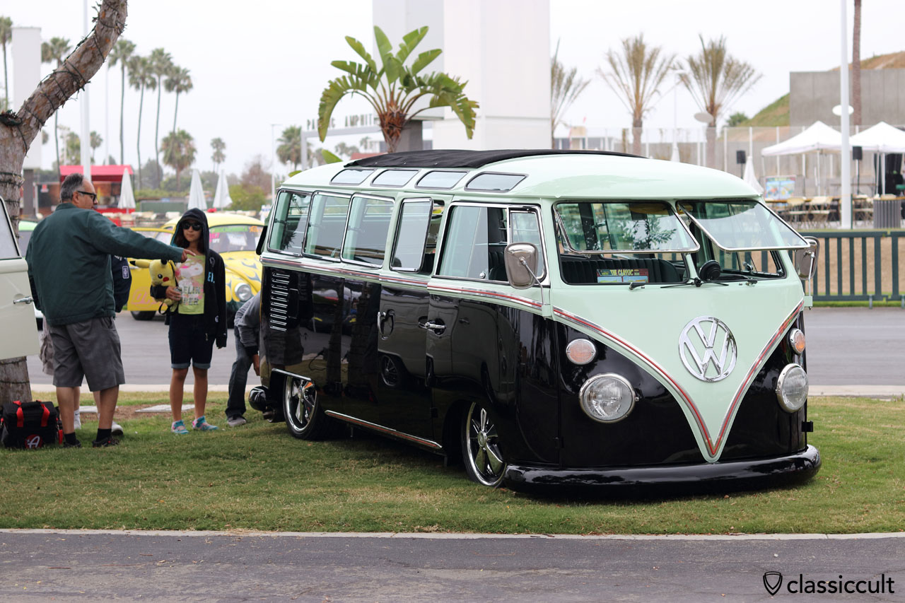 low Samba T1 Bus with Fuchs wheels and Safari Windows