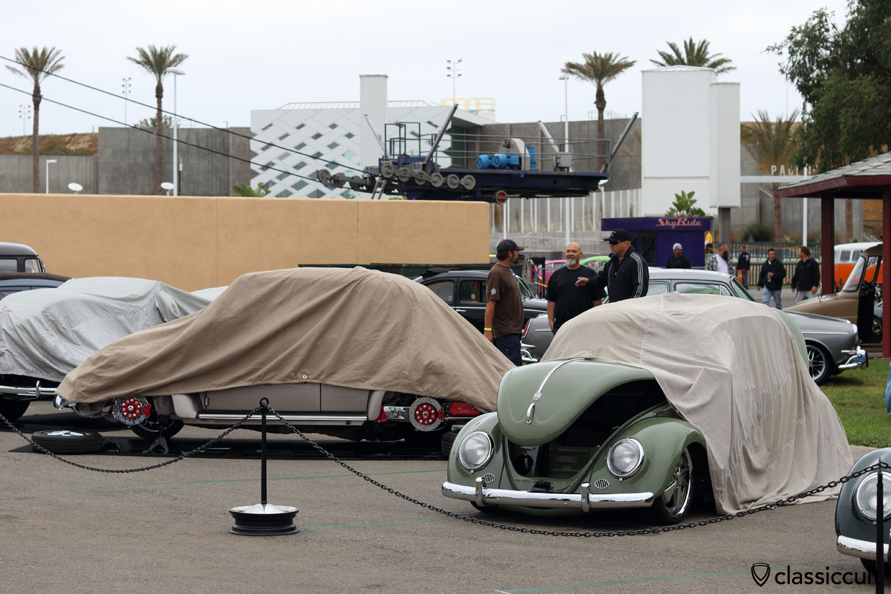 the nasty side of The Classic VW Show, it rains in California