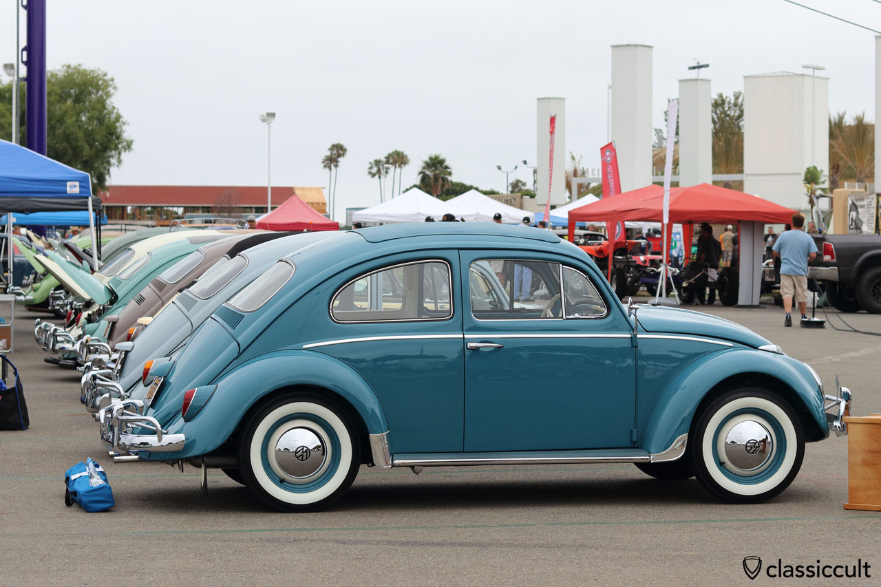 1963 VW Beetle, L390 gulf blue, nut and bold restoration about 20 years ago by owner Philip Nathans, within the last 20 years the bug made about 550 miles, it looks like the restoration was done yesterday