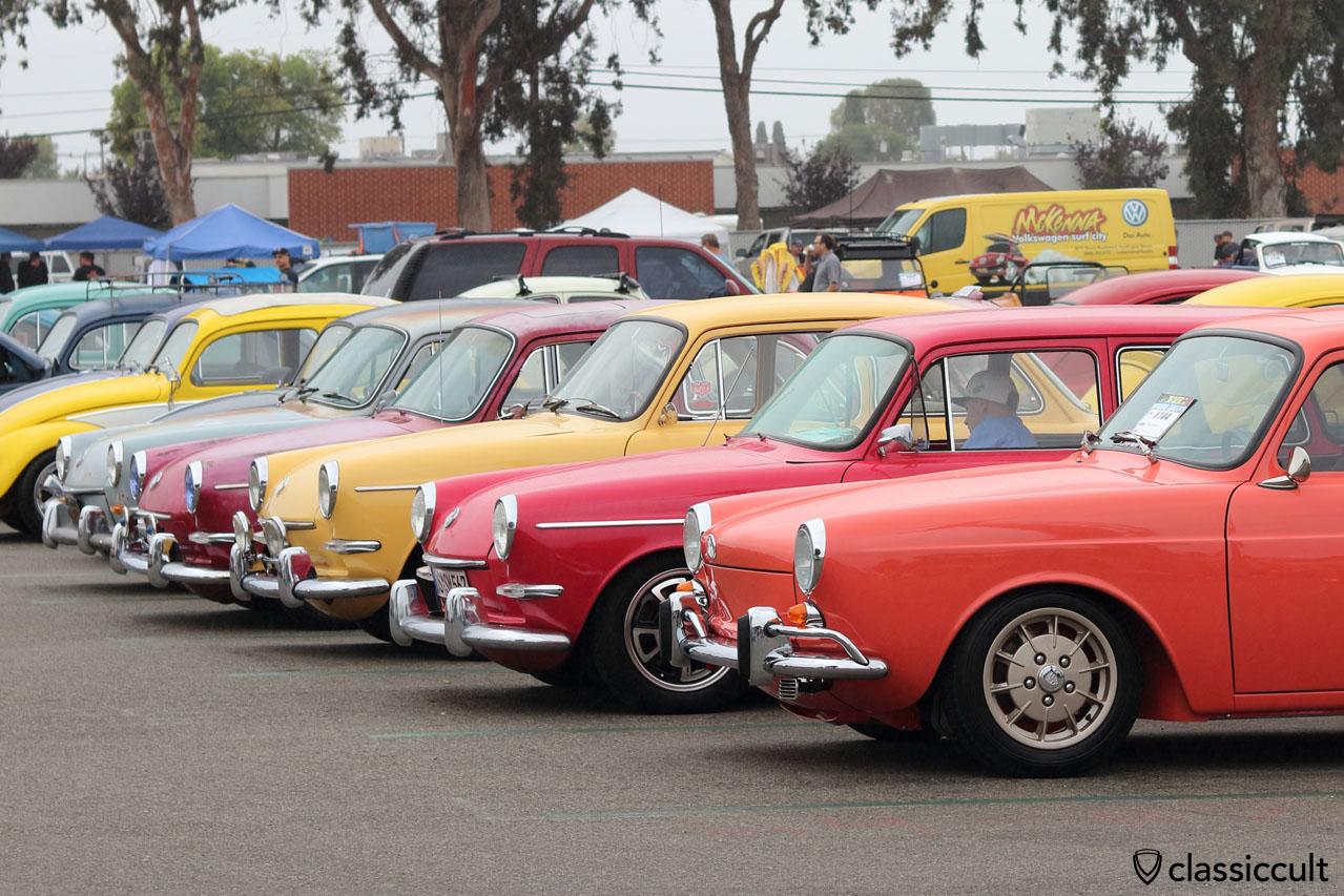 VW Type 3 line up