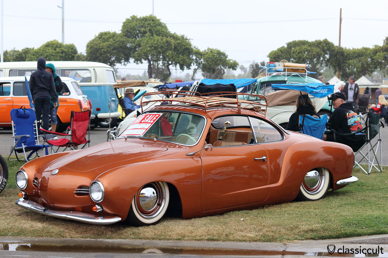 1959 VW Ghia, low and slow