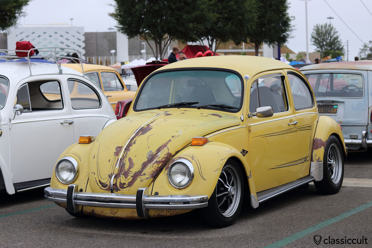 perfect mot well plate yellow vw months rare convertible maintained volkswagen beetle drives p