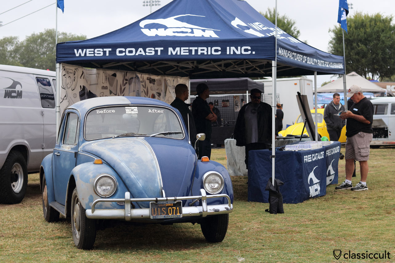 West Coast Metric VW Beetle, before and after