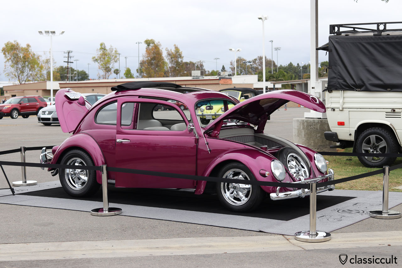 VW Oval Ragtop, Show & Shine