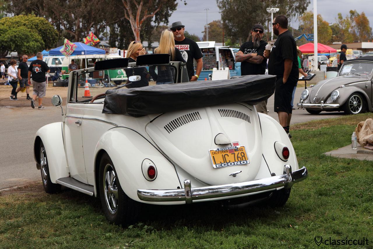 VW Beetle Cabrio with Fuchs wheels