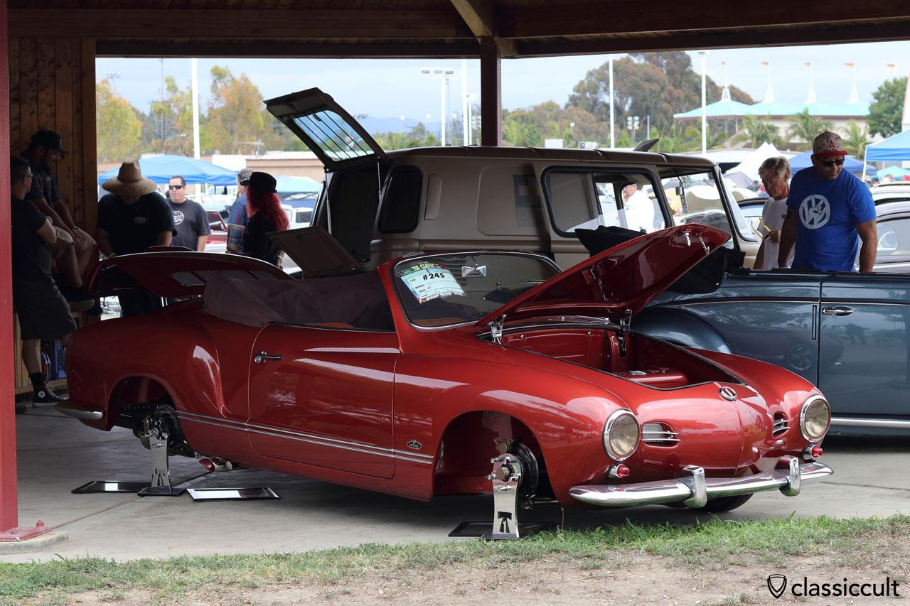 Gary Stell Jr 1959 Karmann Ghia Convertible, THE CLASSIC VW Show 2016