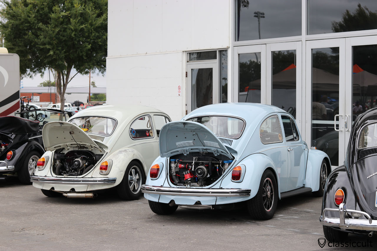 DKP Club VW Beetles at The Classic 2016