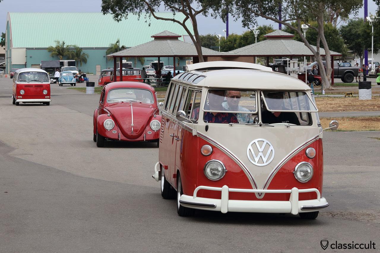 Goodbye The Classic 2016, 3:21 p.m., VW Fans cruising home, June 12, Costa Mesa, California