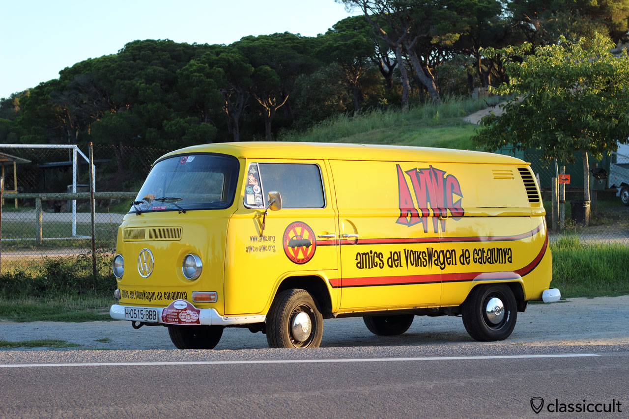 Good Morning Tossa de Mar VW Meeting, Amics del Volkswagen de Catalunya T2 Bus, Saturday 19th September 2015, 8:01 a.m.