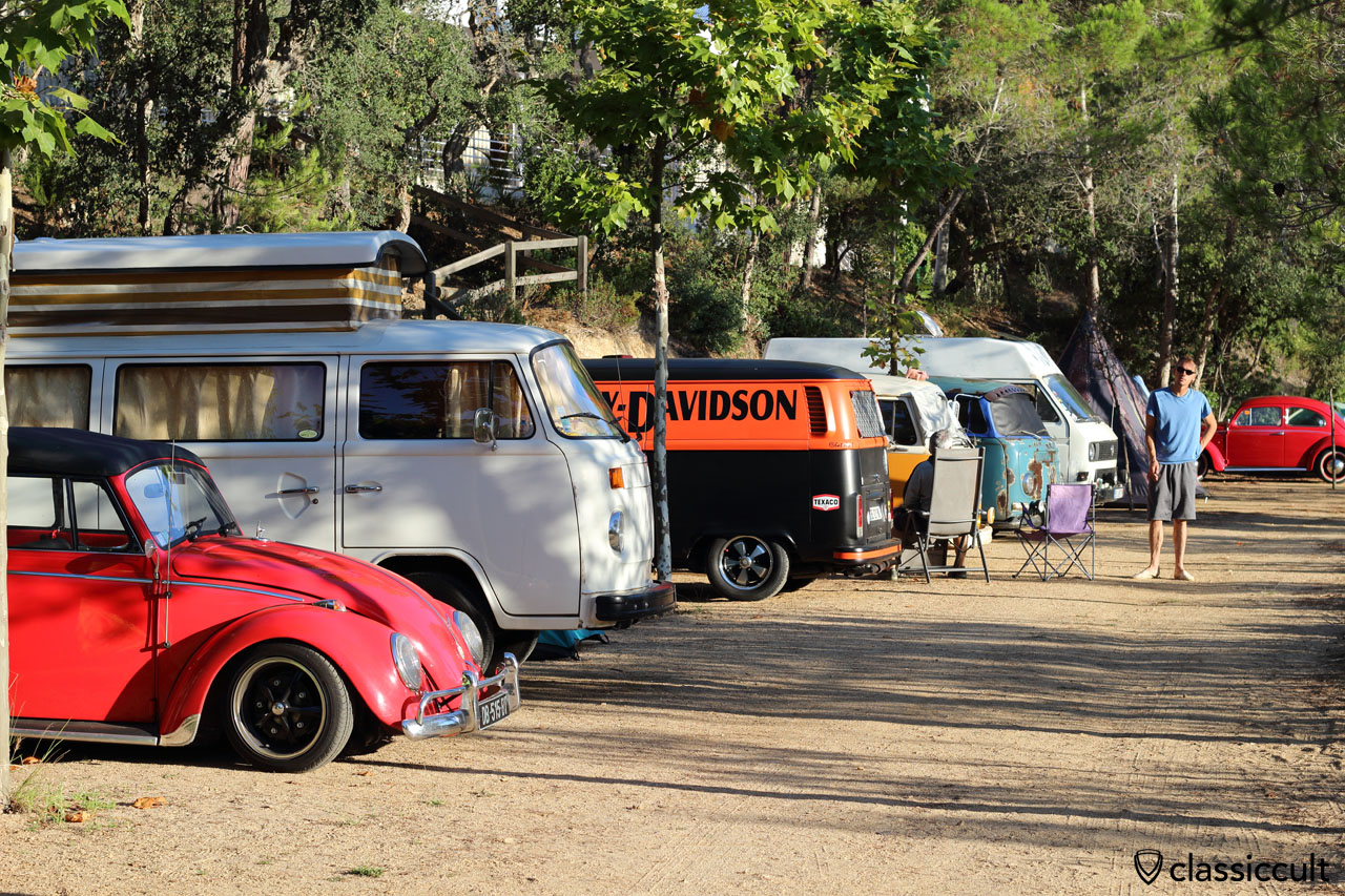 Campground, 8:43 a.m., Tossa de Mar VW Show
