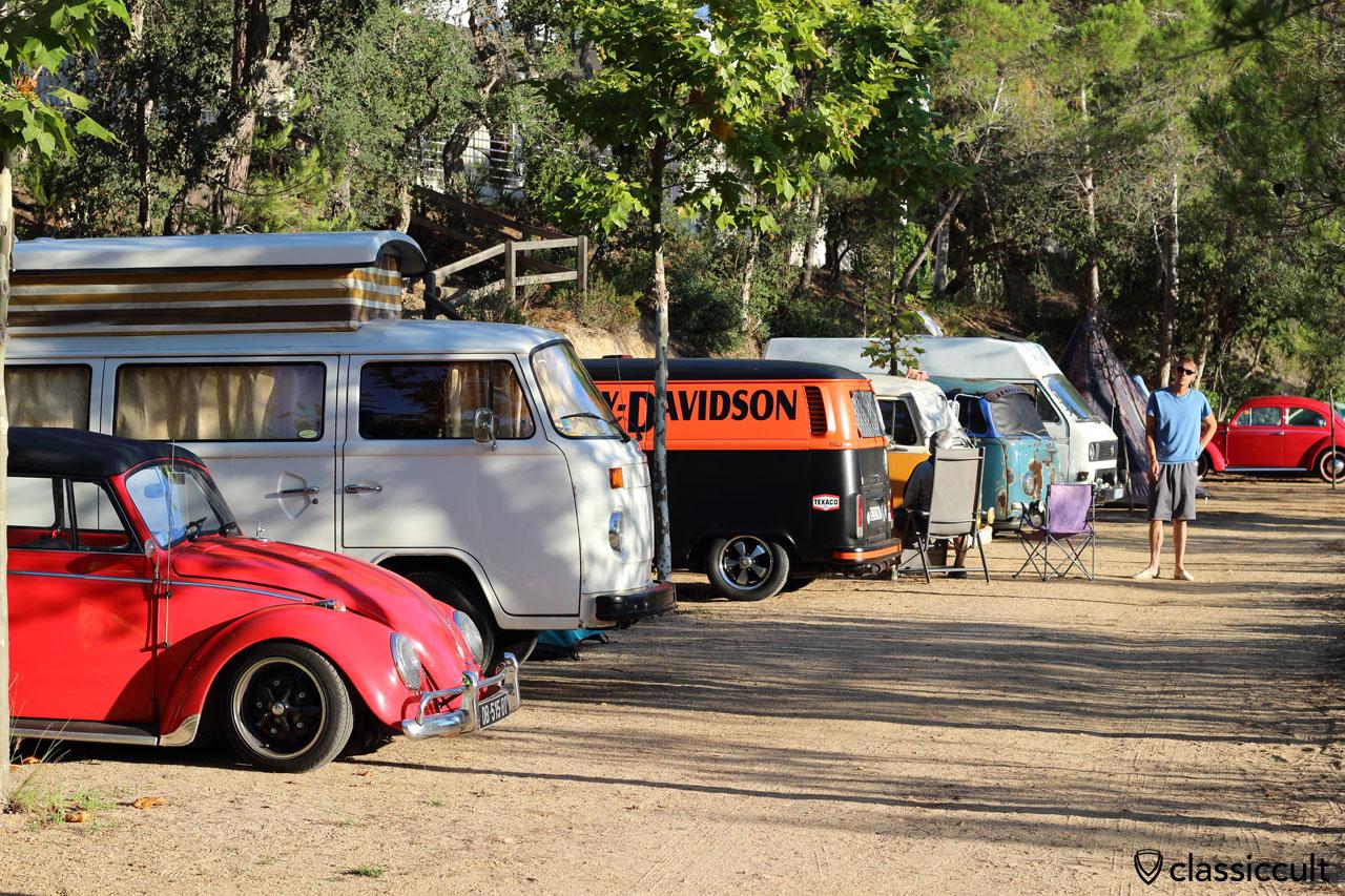 Campground, 8:43 a.m., Tossa de Mar VW Show