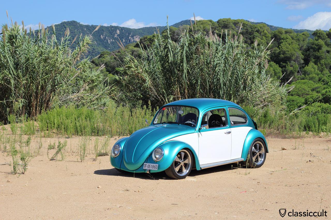 VW Beetle, Tossa de Mar Meeting #22